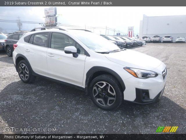 2019 Subaru Crosstrek 2.0i Limited in Crystal White Pearl