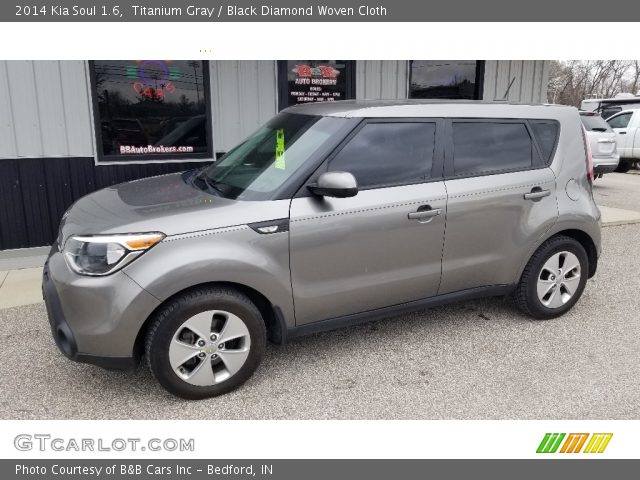 2014 Kia Soul 1.6 in Titanium Gray