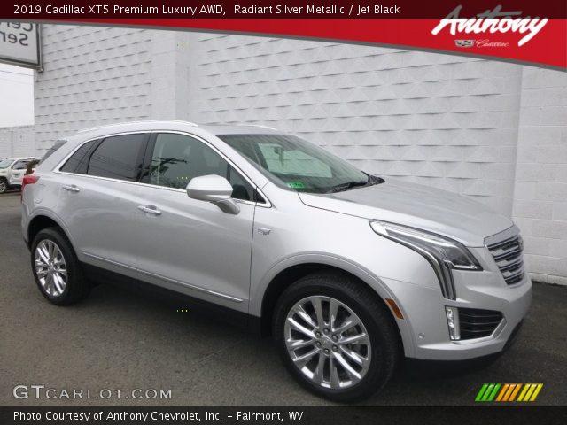 2019 Cadillac XT5 Premium Luxury AWD in Radiant Silver Metallic