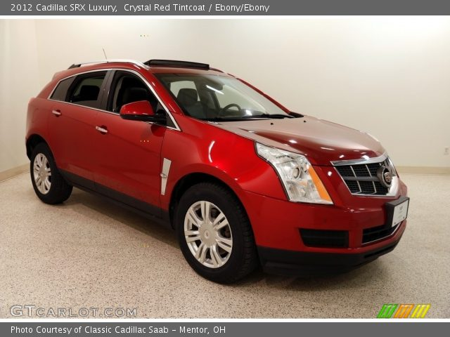 2012 Cadillac SRX Luxury in Crystal Red Tintcoat