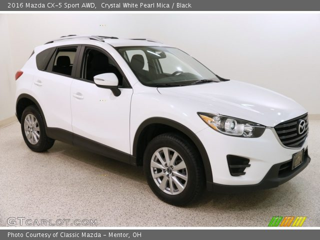 2016 Mazda CX-5 Sport AWD in Crystal White Pearl Mica