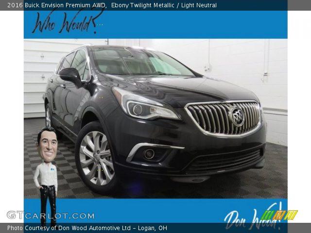 2016 Buick Envision Premium AWD in Ebony Twilight Metallic