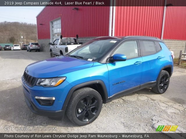 2019 Jeep Compass Latitude 4x4 in Laser Blue Pearl