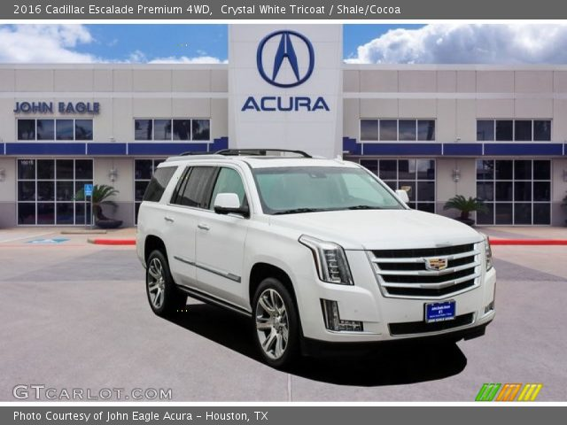 2016 Cadillac Escalade Premium 4WD in Crystal White Tricoat