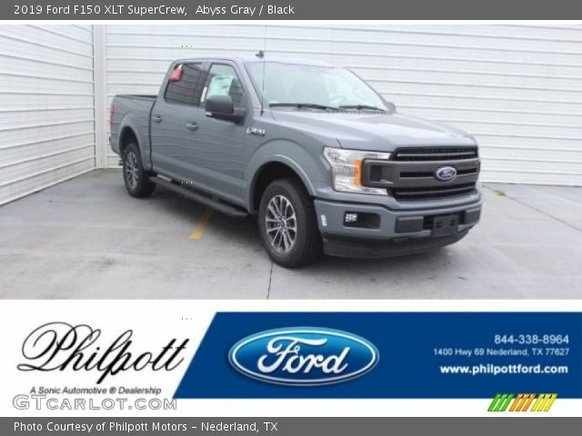 2019 Ford F150 XLT SuperCrew in Abyss Gray