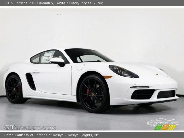 2019 Porsche 718 Cayman S in White