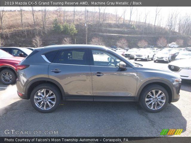 2019 Mazda CX-5 Grand Touring Reserve AWD in Machine Gray Metallic