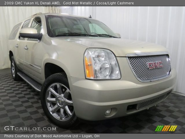 2009 GMC Yukon XL Denali AWD in Gold Mist Metallic
