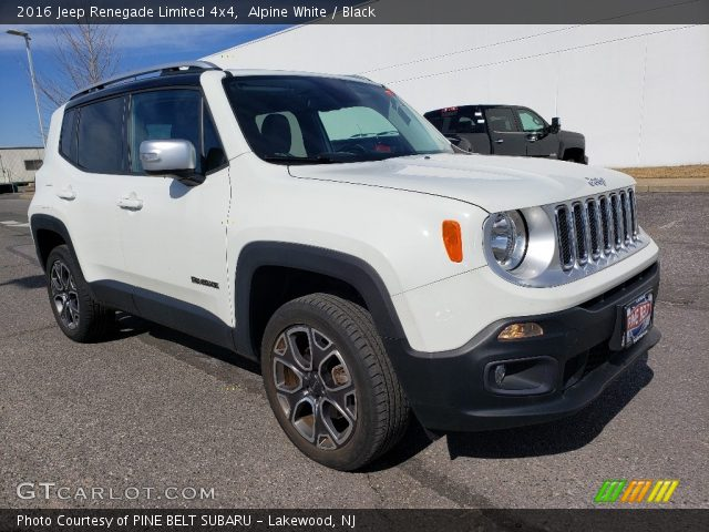 2016 Jeep Renegade Limited 4x4 in Alpine White