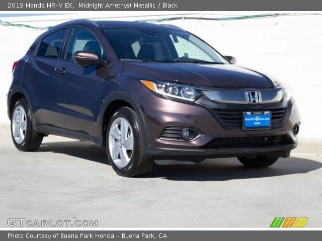 2019 Honda HR-V EX in Midnight Amethyst Metallic