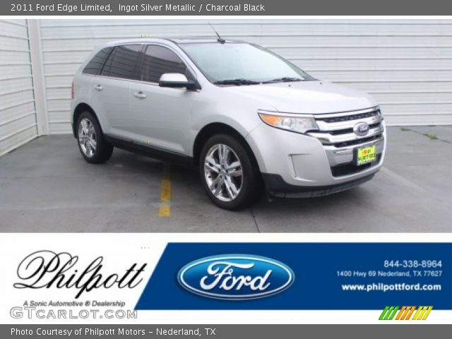 2011 Ford Edge Limited in Ingot Silver Metallic