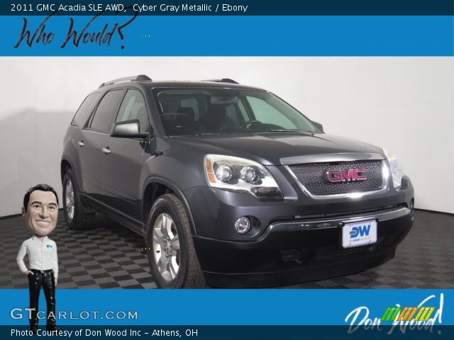 2011 GMC Acadia SLE AWD in Cyber Gray Metallic