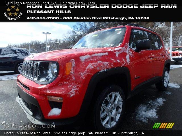 2019 Jeep Renegade Sport 4x4 in Colorado Red