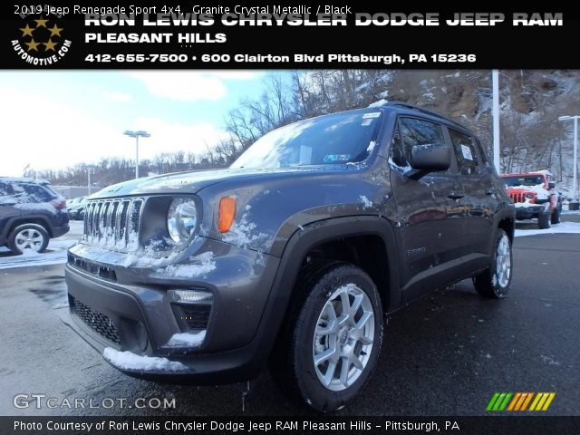 2019 Jeep Renegade Sport 4x4 in Granite Crystal Metallic