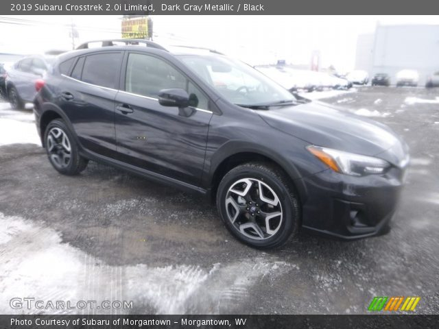 2019 Subaru Crosstrek 2.0i Limited in Dark Gray Metallic