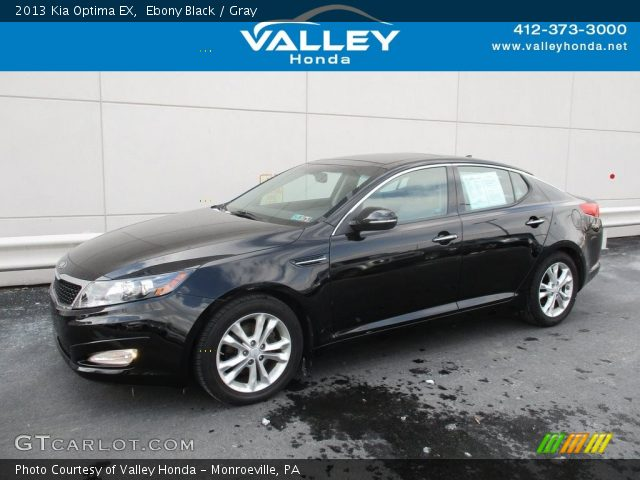 2013 Kia Optima EX in Ebony Black