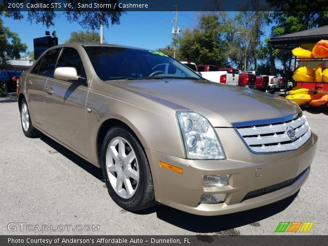 2005 Cadillac STS V6 in Sand Storm