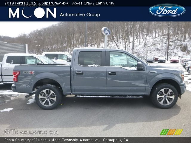 2019 Ford F150 STX SuperCrew 4x4 in Abyss Gray