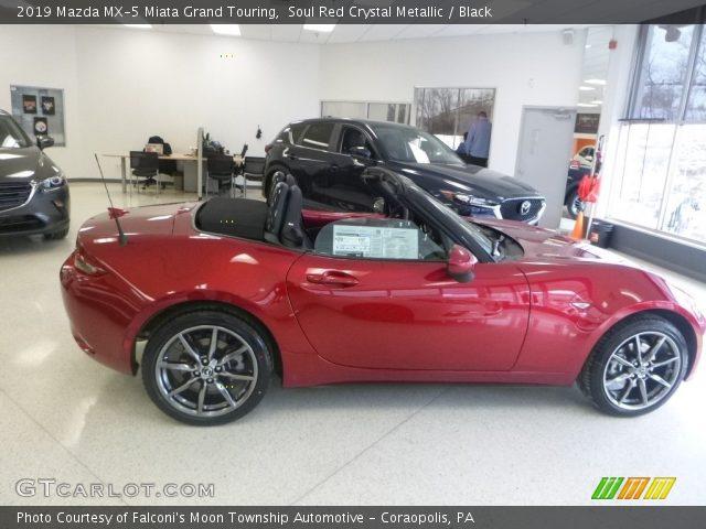 2019 Mazda MX-5 Miata Grand Touring in Soul Red Crystal Metallic