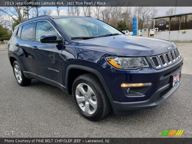 2019 Jeep Compass Latitude 4x4 in Jazz Blue Pearl