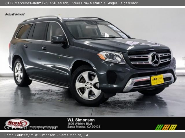 2017 Mercedes-Benz GLS 450 4Matic in Steel Gray Metallic