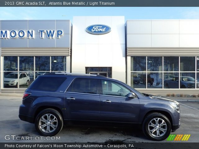 2013 GMC Acadia SLT in Atlantis Blue Metallic