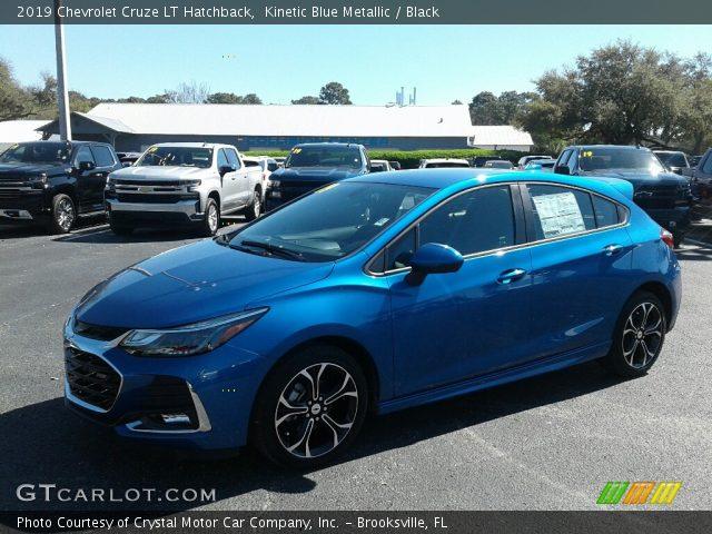 2019 Chevrolet Cruze LT Hatchback in Kinetic Blue Metallic