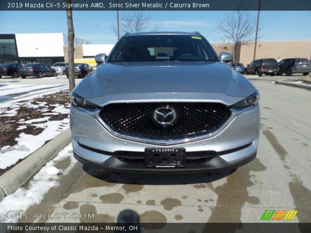 2019 Mazda CX-5 Signature AWD in Sonic Silver Metallic