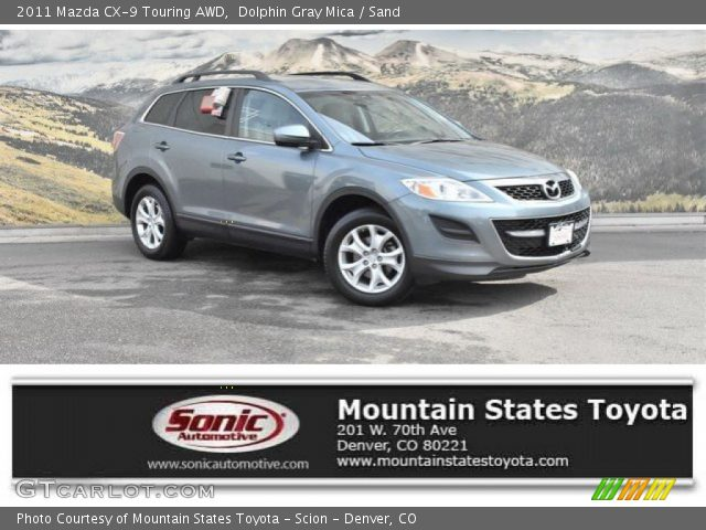 2011 Mazda CX-9 Touring AWD in Dolphin Gray Mica