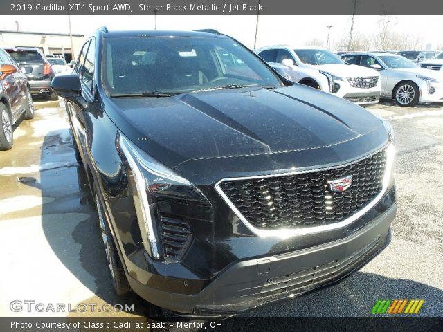 2019 Cadillac XT4 Sport AWD in Stellar Black Metallic