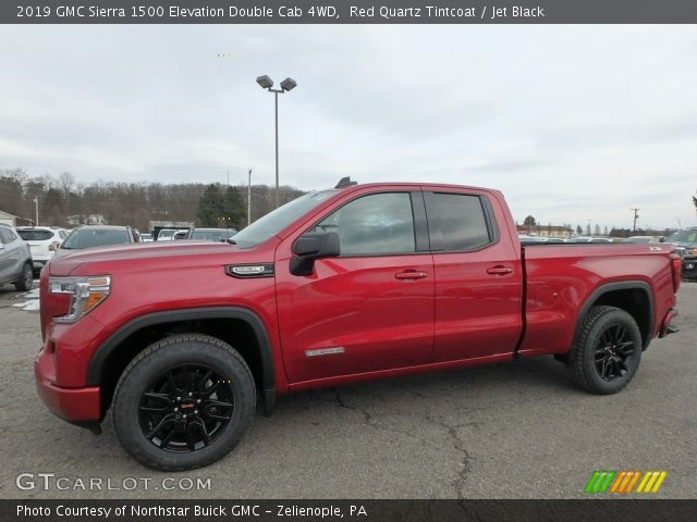2019 GMC Sierra 1500 Elevation Double Cab 4WD in Red Quartz Tintcoat
