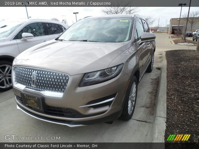 2019 Lincoln MKC AWD in Iced Mocha Metallic