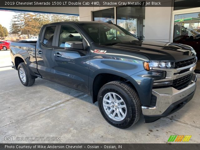 2019 Chevrolet Silverado 1500 LT Double Cab 4WD in Shadow Gray Metallic