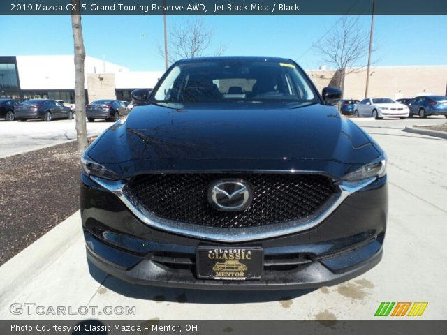 2019 Mazda CX-5 Grand Touring Reserve AWD in Jet Black Mica