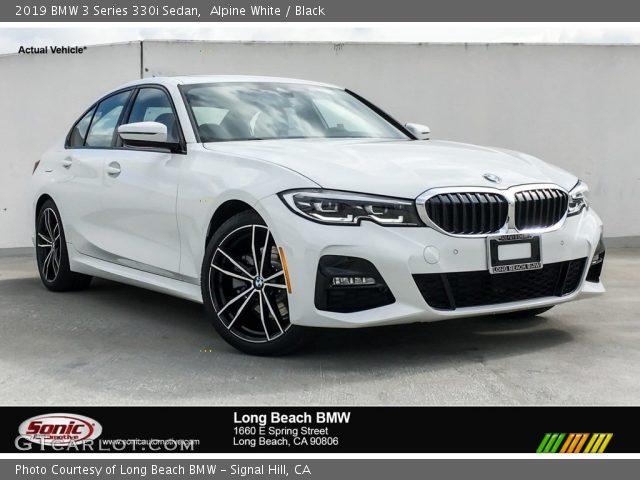 2019 BMW 3 Series 330i Sedan in Alpine White