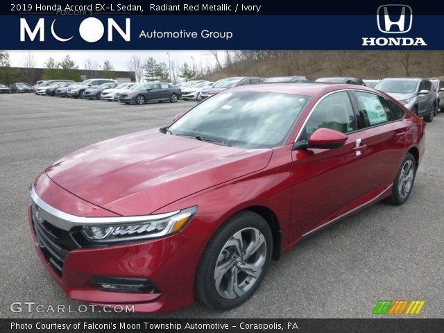 2019 Honda Accord EX-L Sedan in Radiant Red Metallic