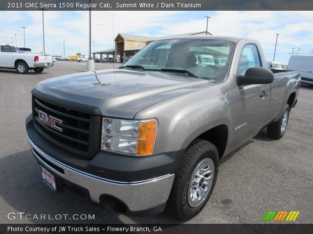 2013 GMC Sierra 1500 Regular Cab in Summit White
