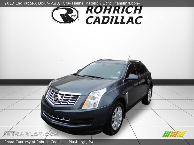 2013 Cadillac SRX Luxury AWD in Gray Flannel Metallic