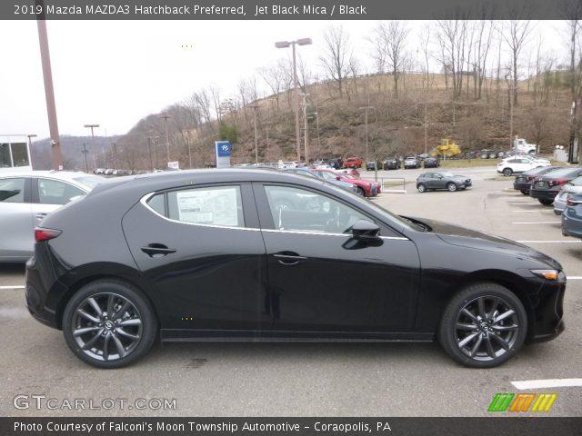2019 Mazda MAZDA3 Hatchback Preferred in Jet Black Mica
