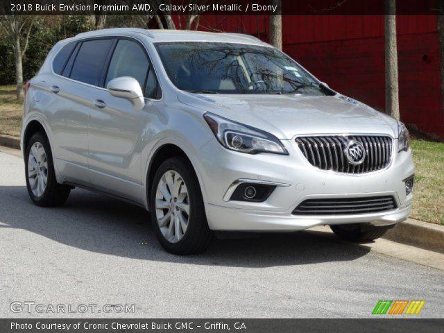 2018 Buick Envision Premium AWD in Galaxy Silver Metallic