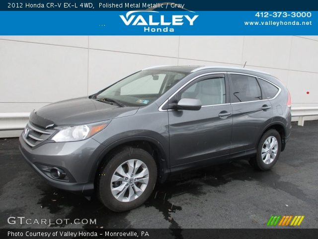 2012 Honda CR-V EX-L 4WD in Polished Metal Metallic