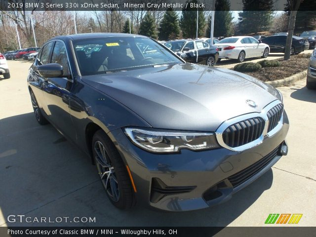 2019 BMW 3 Series 330i xDrive Sedan in Mineral Gray Metallic