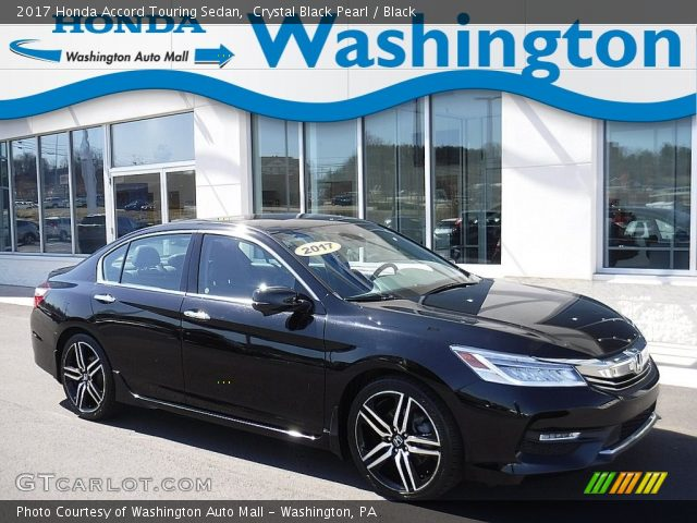 2017 Honda Accord Touring Sedan in Crystal Black Pearl