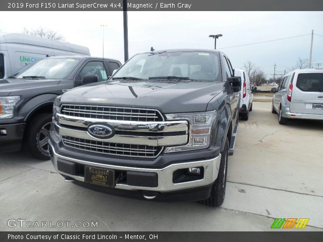 2019 Ford F150 Lariat SuperCrew 4x4 in Magnetic