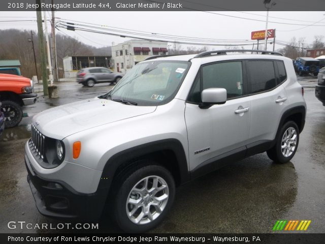 2018 Jeep Renegade Latitude 4x4 in Glacier Metallic
