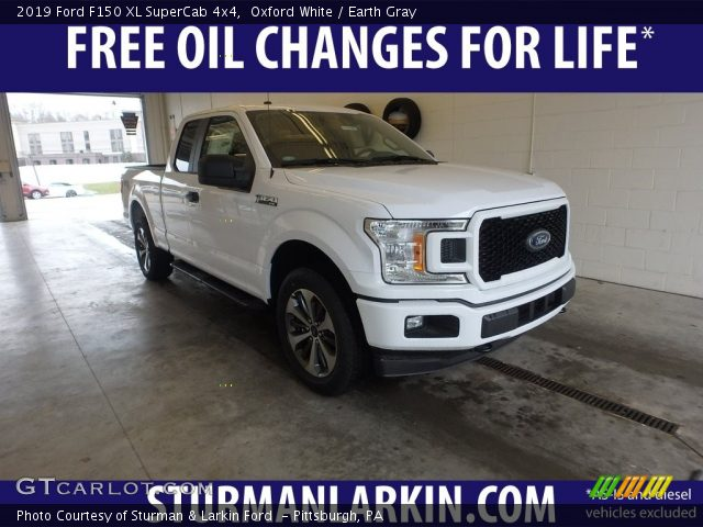 2019 Ford F150 XL SuperCab 4x4 in Oxford White