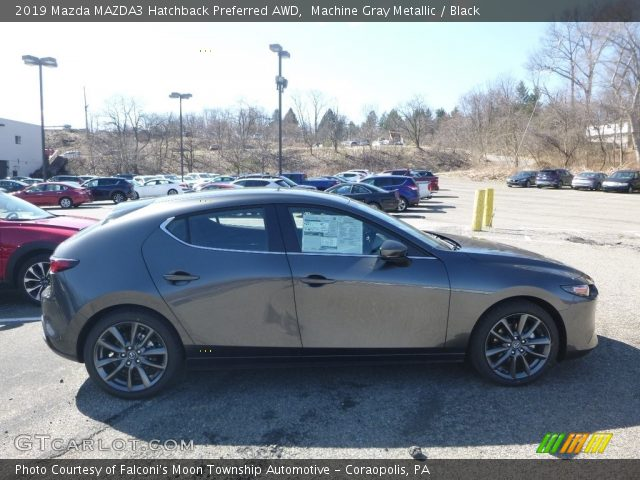 2019 Mazda MAZDA3 Hatchback Preferred AWD in Machine Gray Metallic