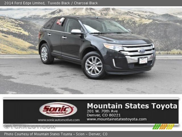 2014 Ford Edge Limited in Tuxedo Black
