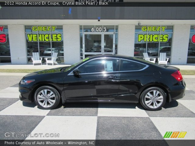 2012 Honda Accord EX Coupe in Crystal Black Pearl