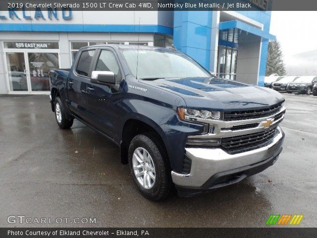 2019 Chevrolet Silverado 1500 LT Crew Cab 4WD in Northsky Blue Metallic